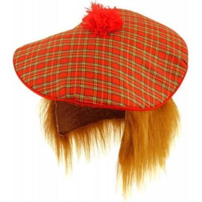 Tartan Hat With Ginger Hair
