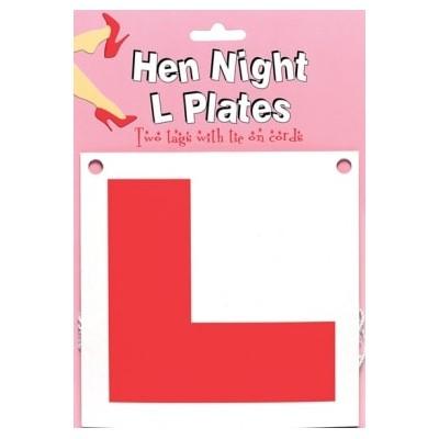 Hen Night - 'L' Plates