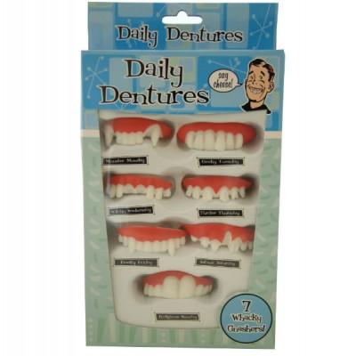 Daily Dentures Wacky Nashers