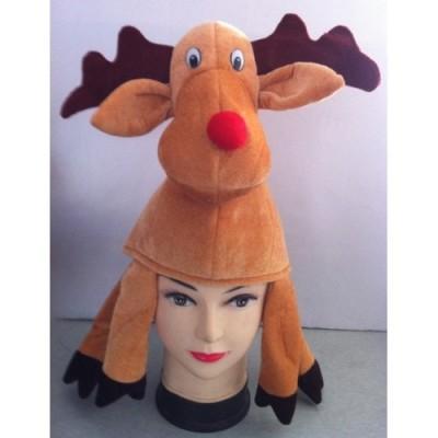 Red Nosed Reindeer Hat