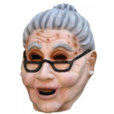 Granny Head Mask