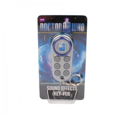 Doctor Who Sound Effects Key Fob