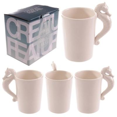 Seahorse Handle Mug