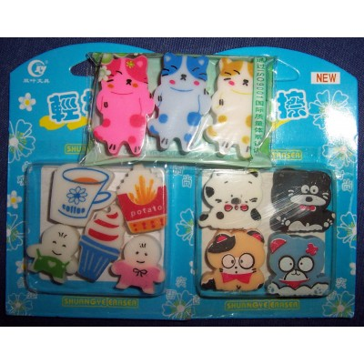 Cute Japanese Erasers