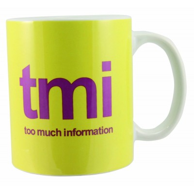 Text Speak Mug - TMI