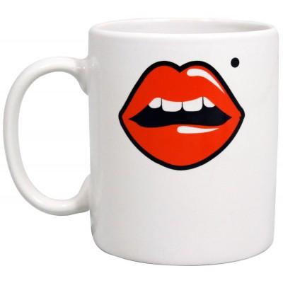 Two Faced Lips Mug