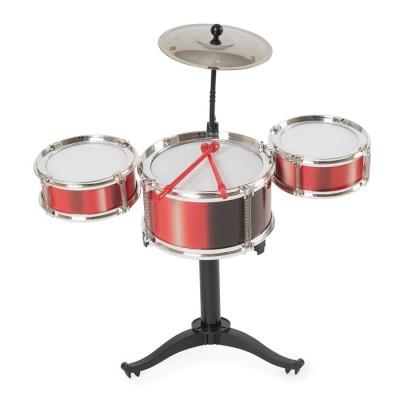 Desktop Drum Kit - Red
