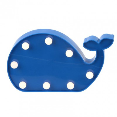 Narwaii & Friends Blue Whale Night Light