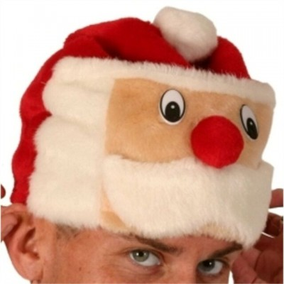 Santa hat with face
