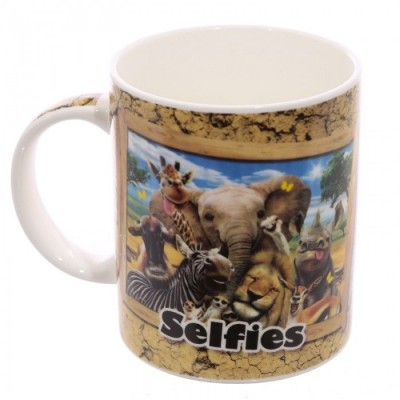 African Animals Selfie Mug