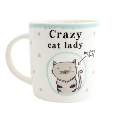 Crazy Cat Lady Mug - Design 2
