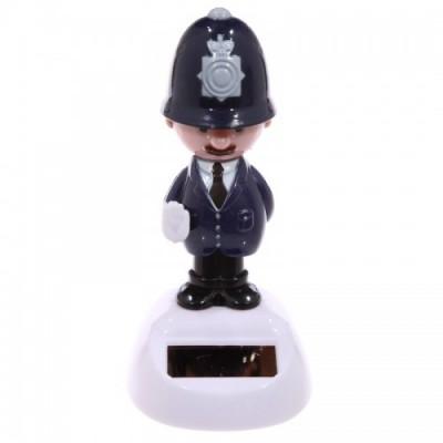Policeman Solar Toy