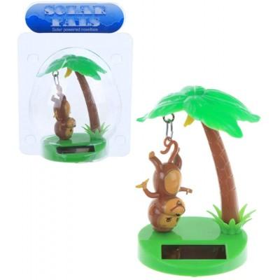 Hanging Monkey Solar Toy