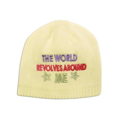 'The World Revolves Around Me' Baby's Beanie Hat