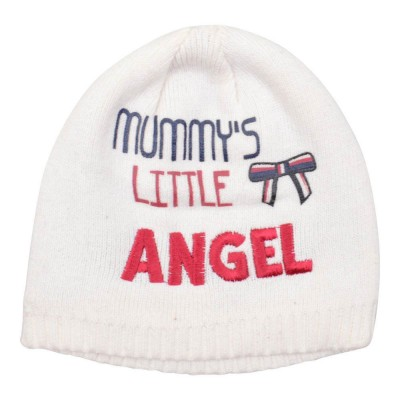 """Mummy's Little Angel"" Baby's Beanie Hat"