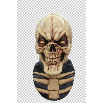 Grinning Skull Head Mask