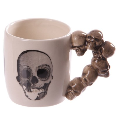 Skulls Handle Mug