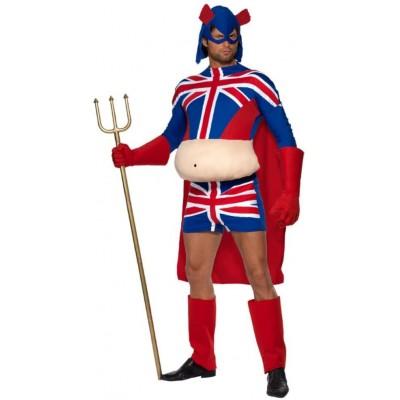 Captain Britannia Costume
