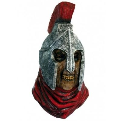 Roman emperor zombie head mask