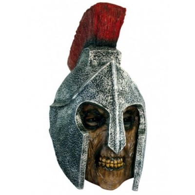 Roman soldier zombie head mask