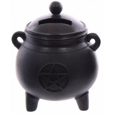 Witch's Cauldron Money Box
