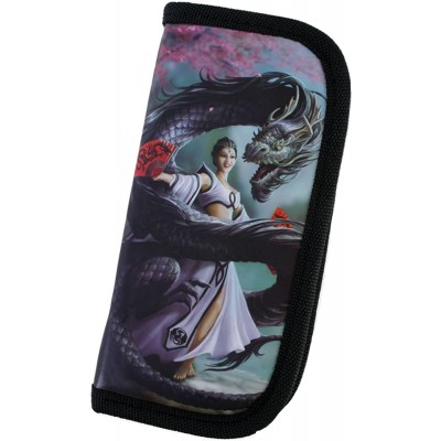 Dragon Dancer design zip purse / wallet