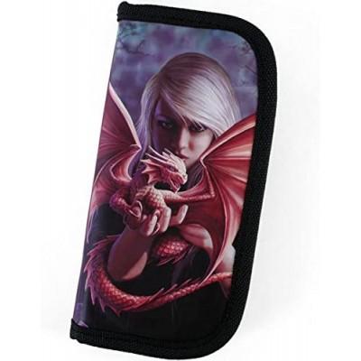 Dragon Kin design zip purse / wallet
