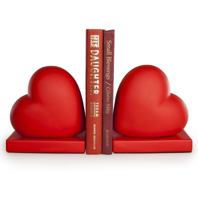 Heart Shaped Bookends
