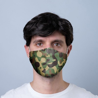Face Covering / Mask - Camouflage design