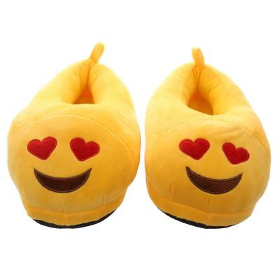Emoji Heart Eyes Slippers - closed back