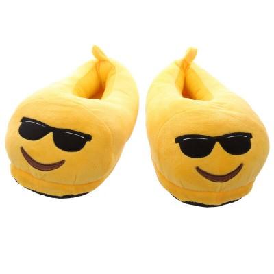 Emoji Sunglasses Slippers - closed back