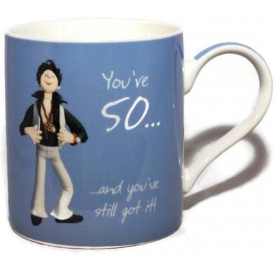You're 50 and you've still got it! Mug