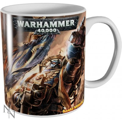 Warhammer 40k Ultramarines Mug
